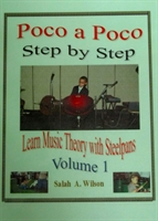 "Picture of Poco A Poco  Step by Step ""Learn  Music Theory with Steelpan"" -Volume 1"