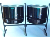 Picture of Double Guitar Pan Set - Powder Coated