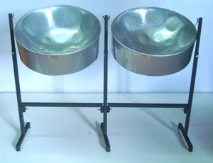 Picture of Double Tenor Pan Set - Powder Coated